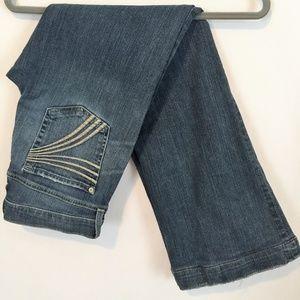 7 For All Mankind Dojo Jeans 7 Stitch Pocket 28x30